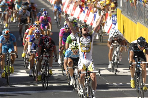 2010 Tour de France - Cavendish Wins Stage 5
