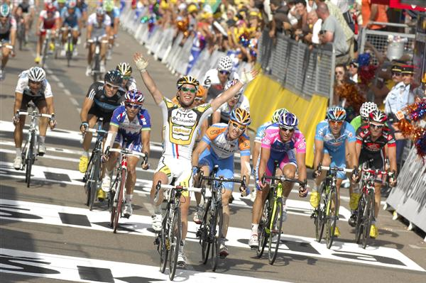 2010 Tour de France - Cavendish Wins Stage 6