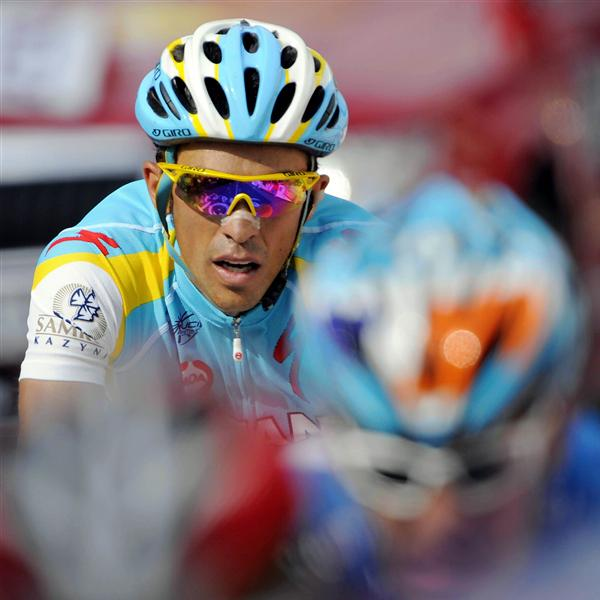 2010 Tour de France - Contador in Stage 9