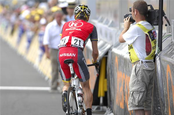 2010 Tour de France - Armstrong After Stage 12