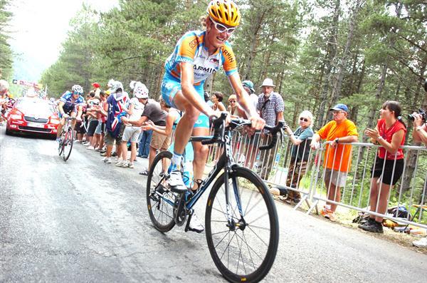 2010 Tour de France - Vansummeren in Stage 12