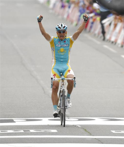 2010 Tour de France - Vinokourov Wins Stage 13