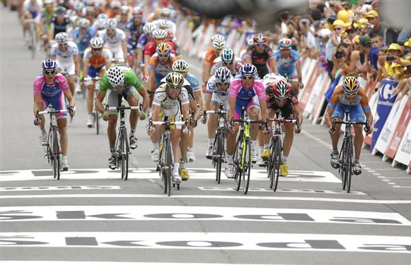 2010 Tour de France - Stage 13 Field Sprint