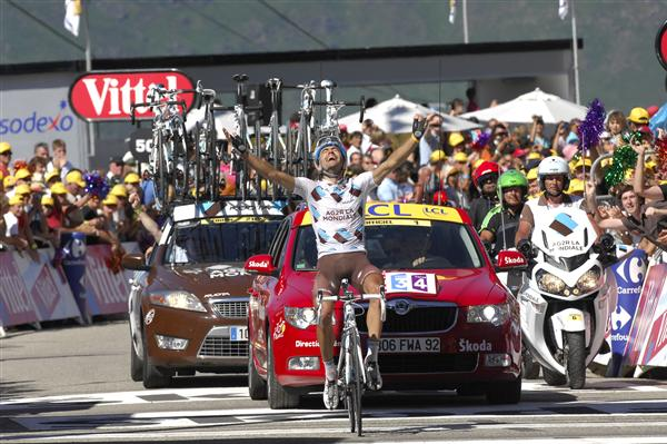 2010 Tour de France - Riblon Wins Stage 14