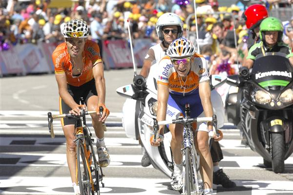 2010 Tour de France - Sanchez and Menchov in Stage 14