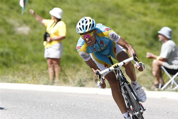 2010 Tour de France - Contador in Stage 15