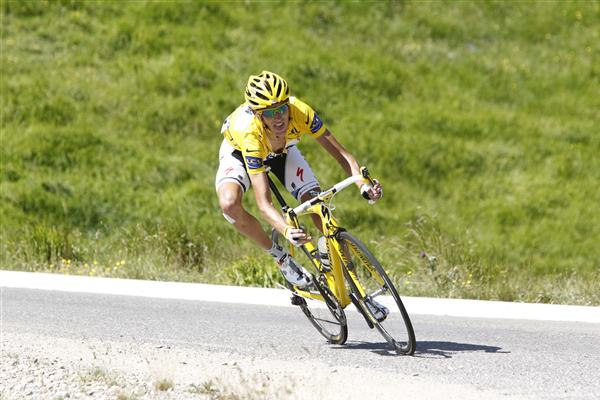 2010 Tour de France - Schleck in Stage 15