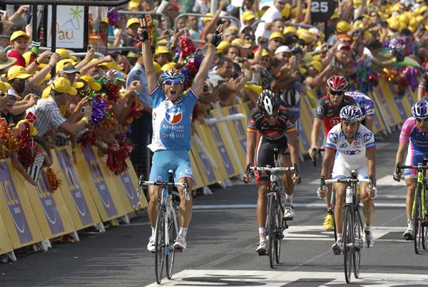 2010 Tour de France - Fedrigo Wins Stage 16