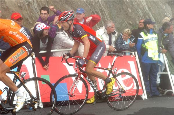 2010 Tour de France - Horner in Stage 17