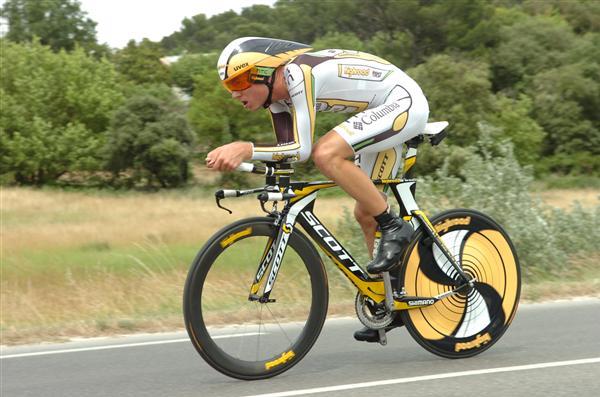 2010 Dauphiné - Van Garderen in Stage 3