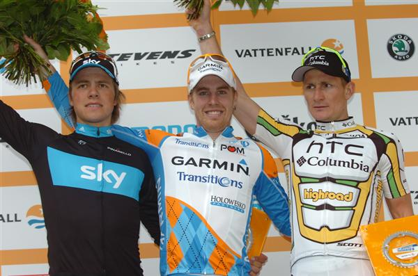 2010 Vattenfall Cyclassics - Final Podium