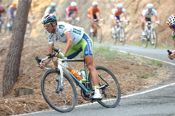2010 Vuelta Espana - Vincenzo Nibali Descends