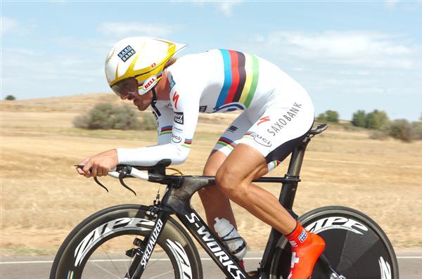 2010 Vuelta a Espana - Cancellara in Stage 17