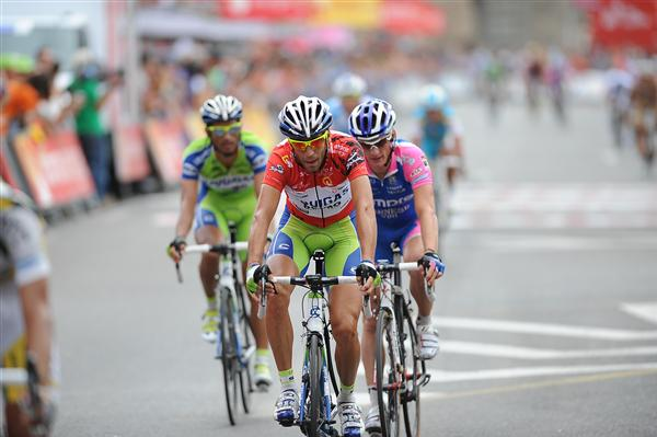 2010 Vuelta a Espana - Nibali Finishes Stage 19