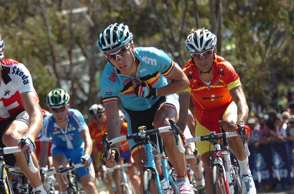 2010 Worlds Elite Men's Road Race - P. Gilbert