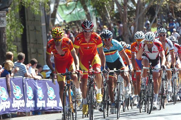 2010 Worlds Elite Men's Road Race - Spain