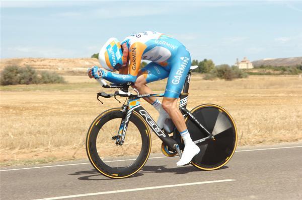 2010 Vuelta a Espana - Dave Millar in Stage 17