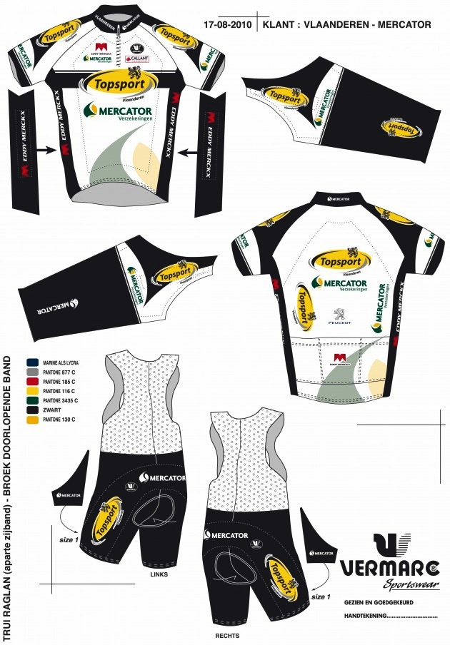 2011 Team Kit: Topsport Vlaanderen