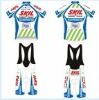 The new 2011 team kit from the Skil-Shimano team on Twitpic