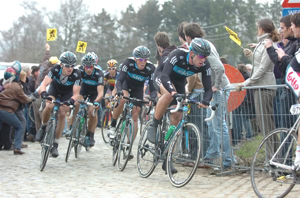 2010 Tour of Flanders - Team Sky