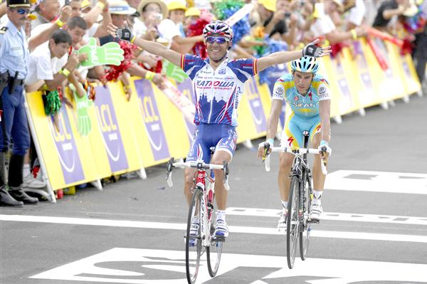 2010 Tour de France - Rodriguez Wins Stage 12