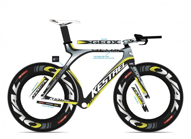 First Look: Team Geox-TMC Time Trial Bike | Pavé
