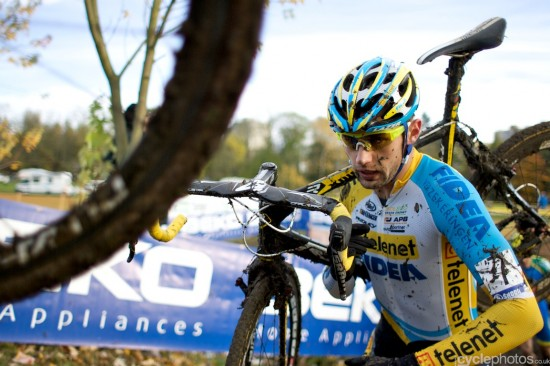 Rob Peeters rode well but during one his visits to the pits, he failed to stop. Photo: Balint.