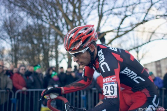 Julien Taramarcaz had a solid ride in Roubaix. Photo: Balint.