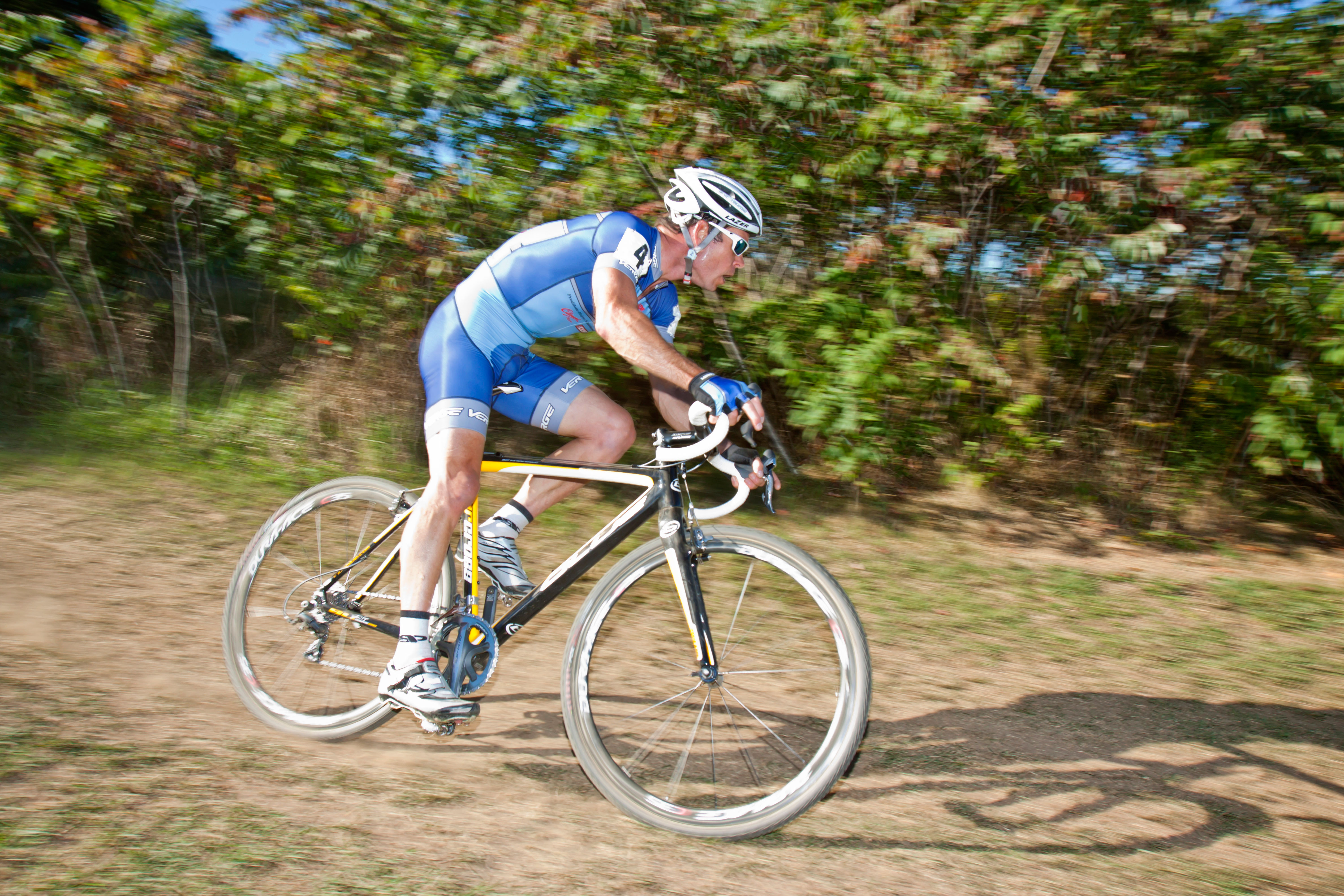 Jonathan Page at Green Mountain Cyclocross in Willison, VT. Photo: Nick Czerula.