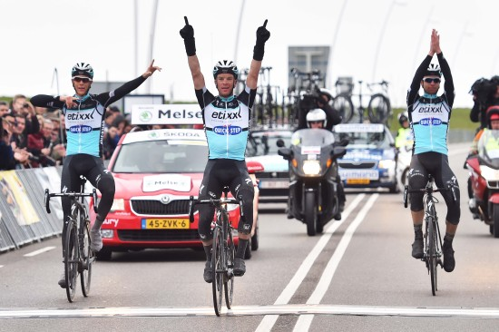 Could Wednesday bring another EQS 1-2-3? (Photo Credit: Etixx - Quick-Step/Tim De Waele)